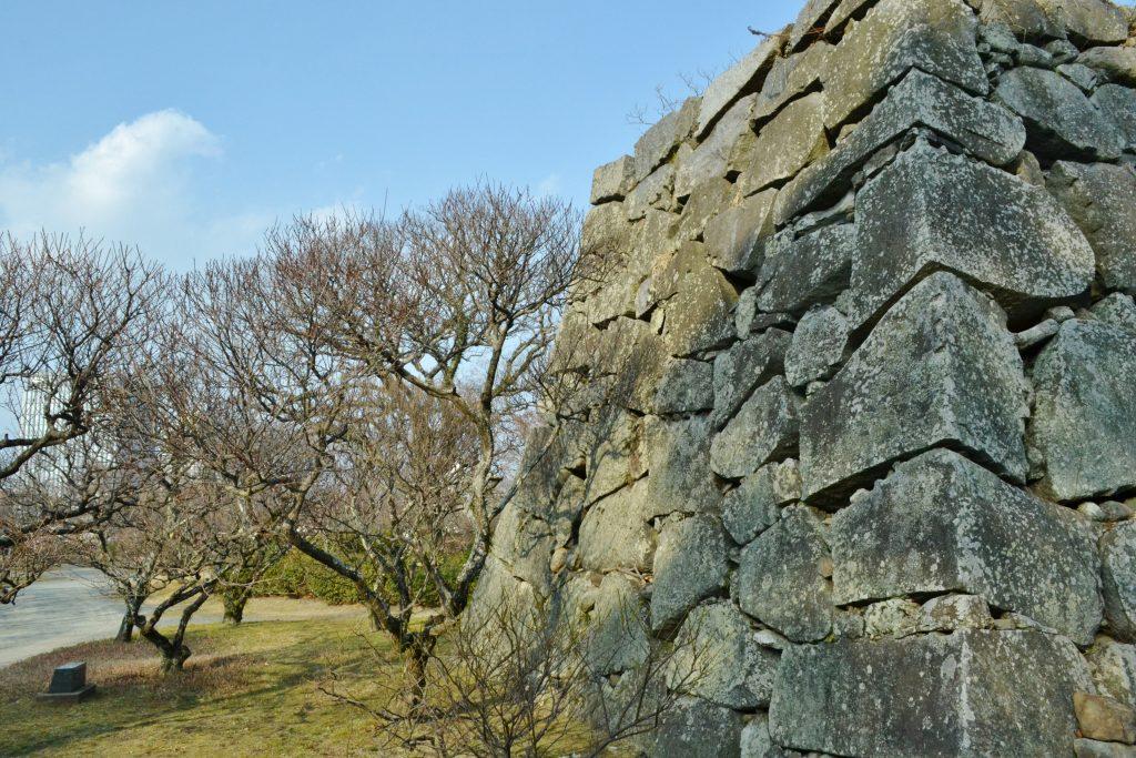 そびえたつ石垣2