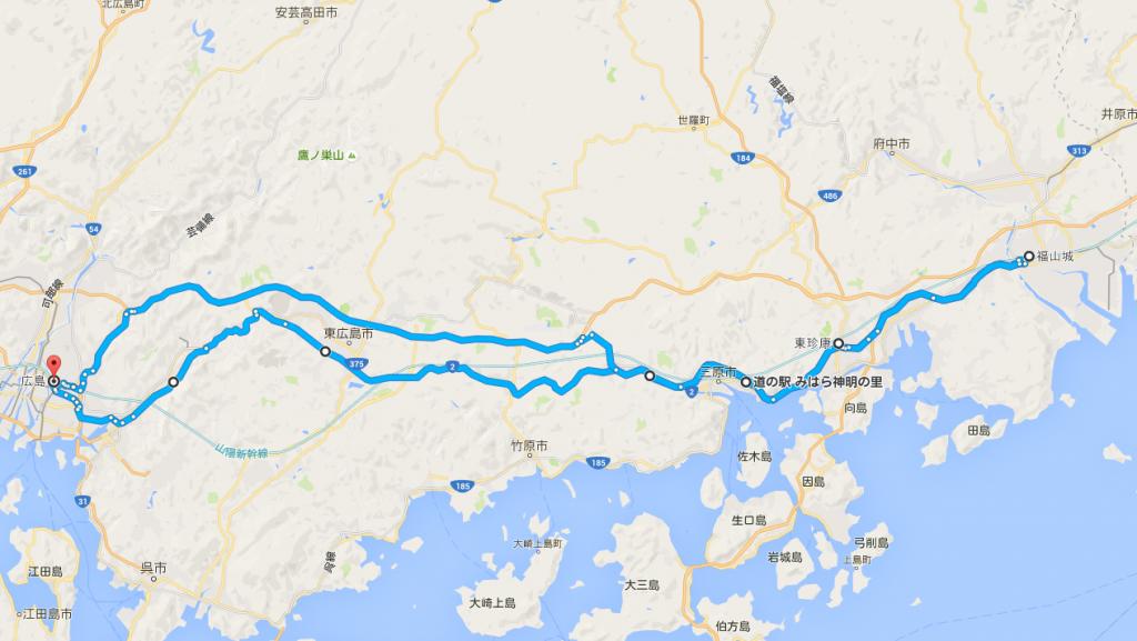 福山ツーリングマップ