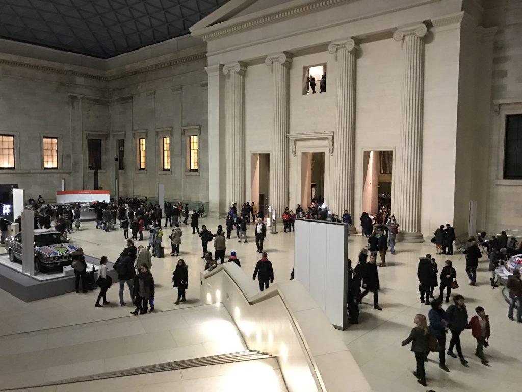 大英博物館 内部