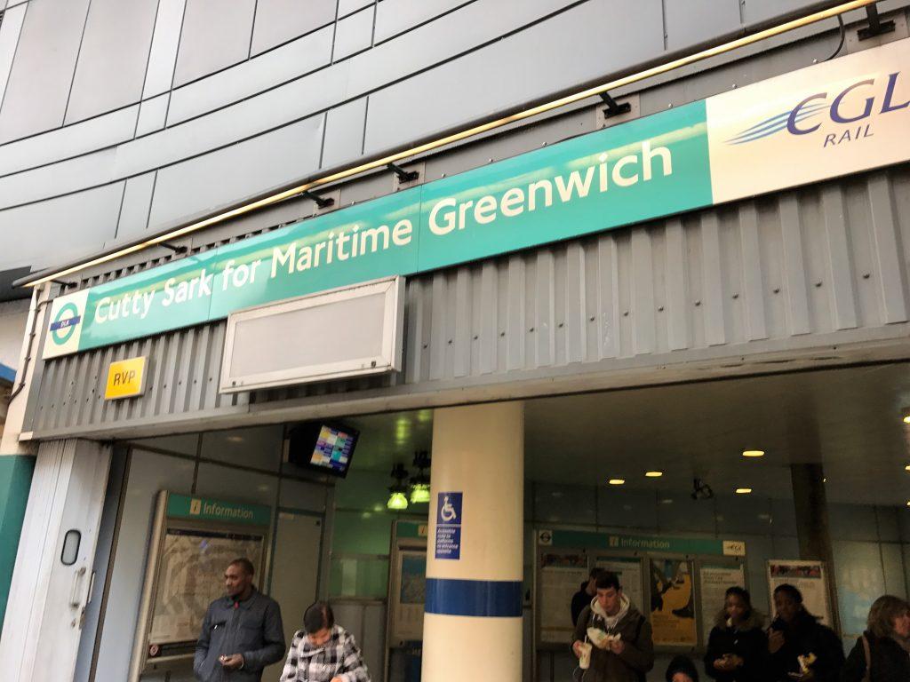 Greenwich駅