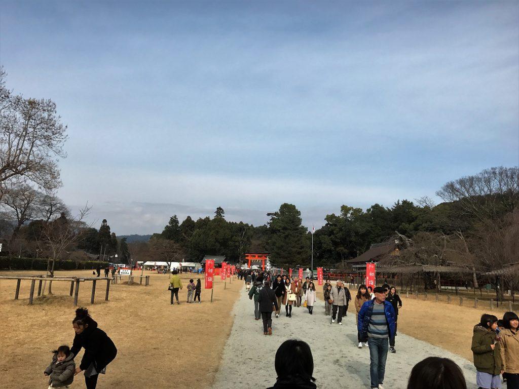 上賀茂神社 参道